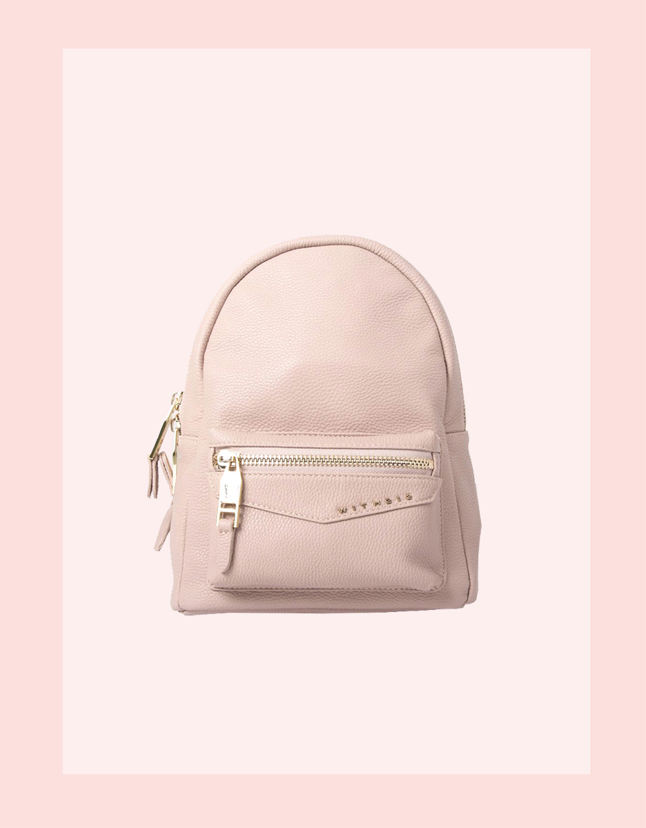 WE GOT YOUR BACK GIRL    SHOP BLEECKER BACKPACK