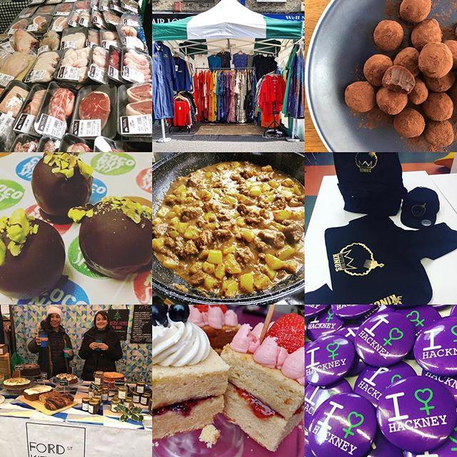 Catch all of this and more at our International Women's Day market tomorrow from 10am!  @chefannamarie @empyah_london @fordstreetkitchen @littlebaobabuk @future_q_and_k @cakesbytheresa @hackneycouncil @bynoelunchbox @joesjerk @coconutshy_london @savethedateldn  #wellstreetmarket #hackneywomen #femaleentrepreneur #whattodoinlondon #weekend #fun #homerton #hackney #streetmarket #community