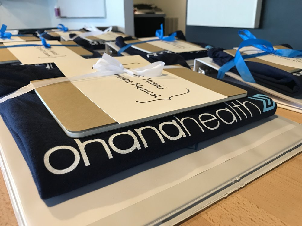 OhanaHealth Orientation Binders