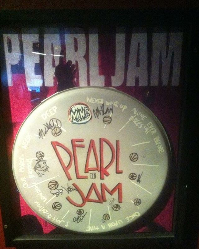 "25 years ago today, Pearl Jam ""Ten"" was released and influenced countless musicians around the world. One of my favorite records of all time. Happy birthday PJ Ten #pearljam #ten #seattle #londonbridgestudios #pj #grunge #anniversary"