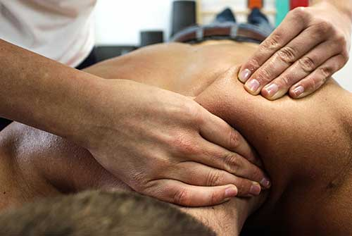 Deep massage in Wellington