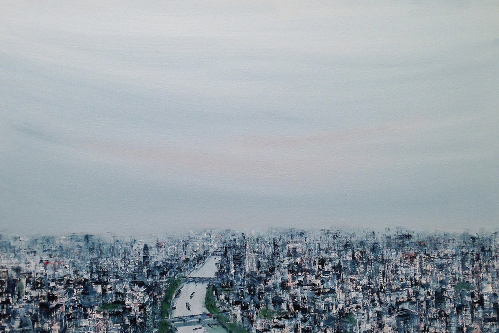Blue skies V