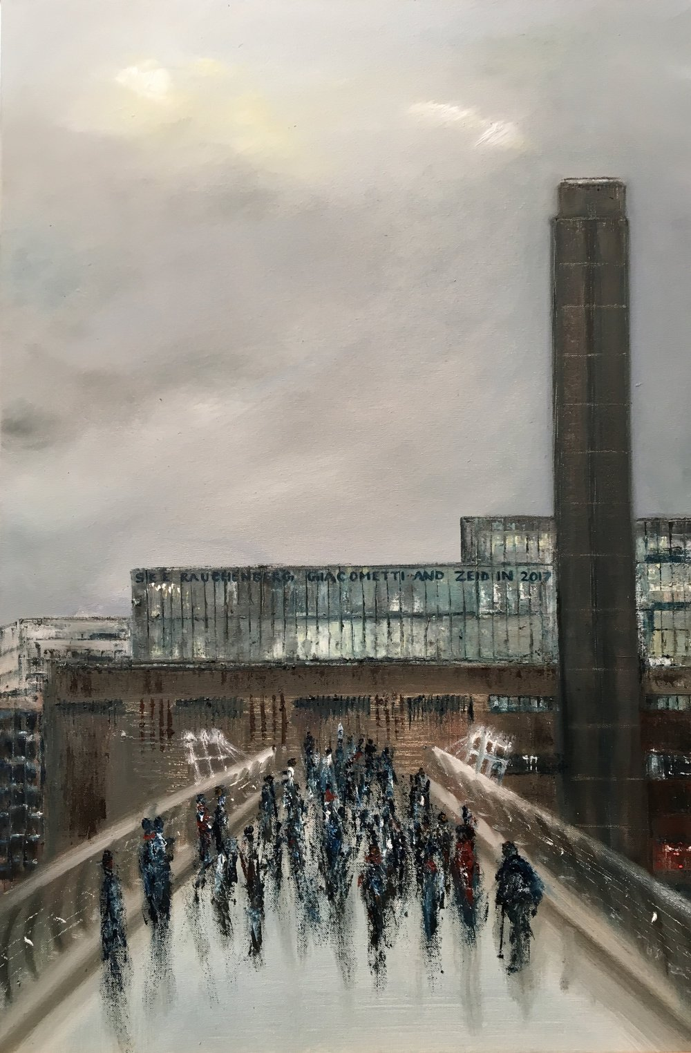Tate Modern, Oil, 20 * 30, 2018
