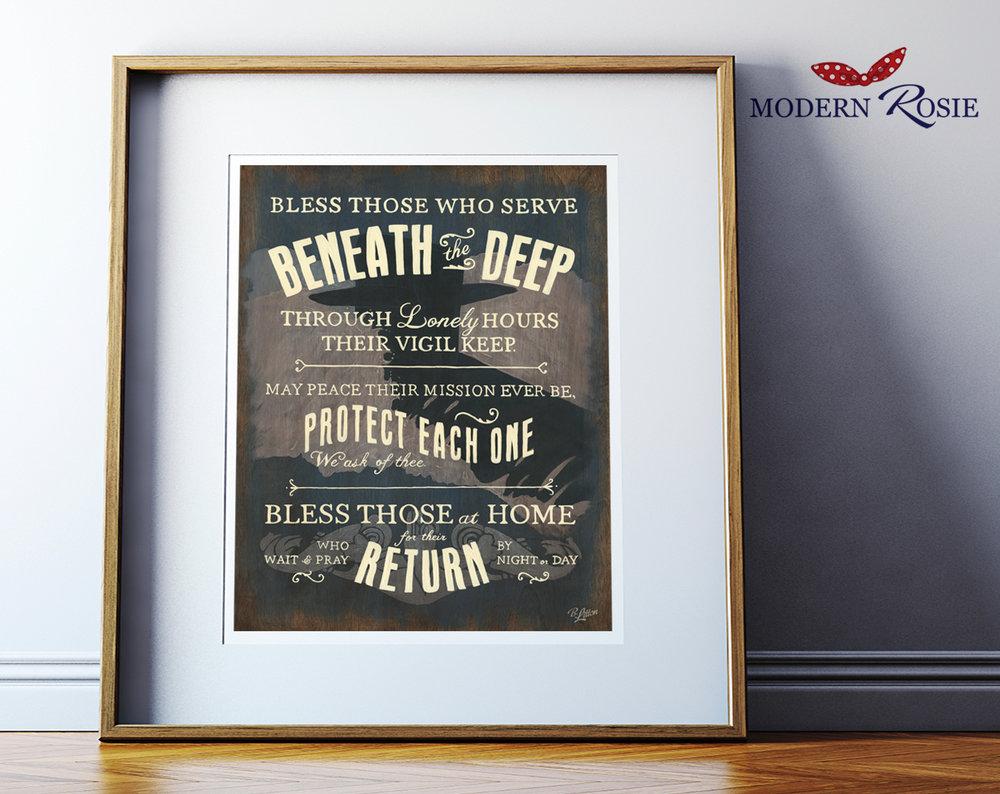 Submarine Prints
