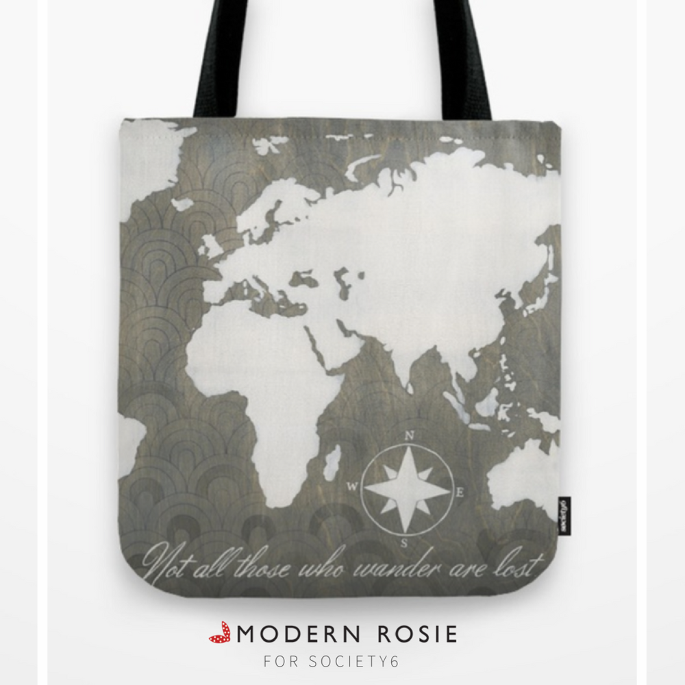 """""""Not All That Wonder Are Lost"""" Tote Bag- $20.99"""