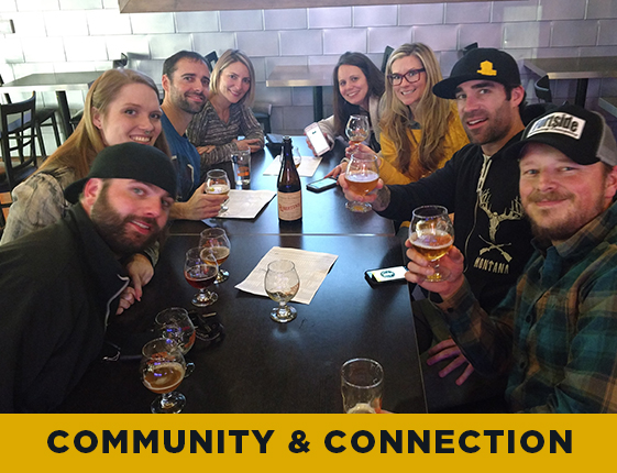 We are meant to live in community, and we believe in the power of connecting with people.  Yes, we serve alcohol and you could say we operate a 'bar.' But we believe Final Draft Taphouse is more than that. Our place is a place to connect with each other over a pint and have conversations that matter.