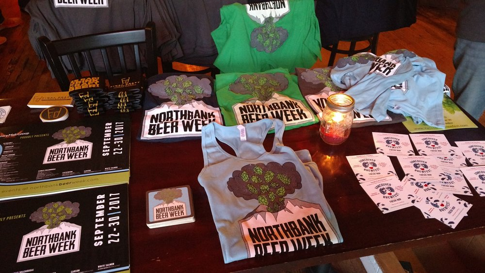 North Bank Beer Week Swag!