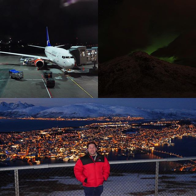 Whether it be Northern Lights sightings, beautiful views, or getting up close with husky's and reindeer, Tromsø has it all. Be sure to plan a trip to the arctic circle soon for a once in a lifetime experience. #workhardplayharder #aviation #avgeeks #travel #norway #tromsø #northernlights #sgtravelss #samchui #tpg