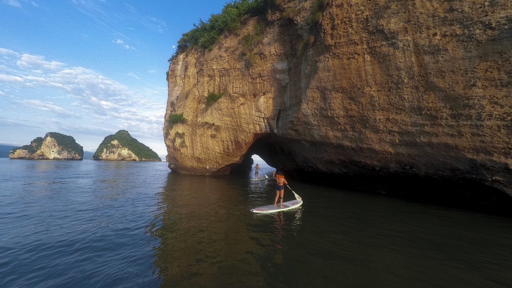 Los Arcos Stand Up Paddleboarding