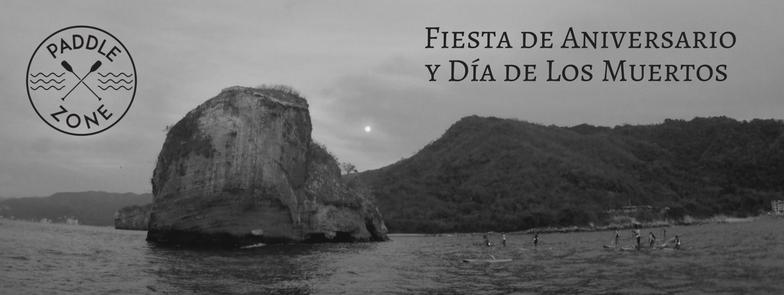 Los Arcos Paddleboarding Full Moon Puerto Vallarta Mismaloya Dia de los muertos
