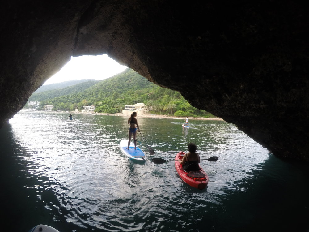 Single kayak in Los Arcos Marine Park  *Please note, you must book a Los Arcos Tour to visit the islands by kayak