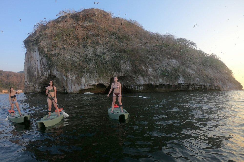 Paddleboarding Puerto Vallarta
