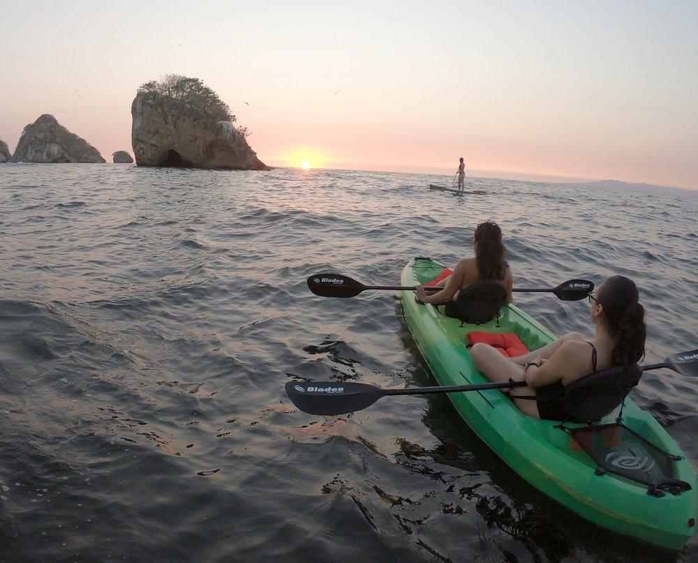 kayak paddle los arcos puerto vallarta