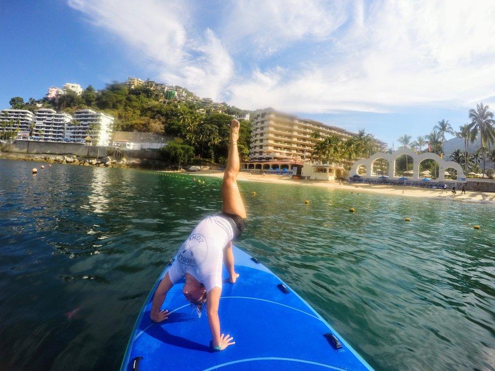 SUP Yoga Puerto Vallarta