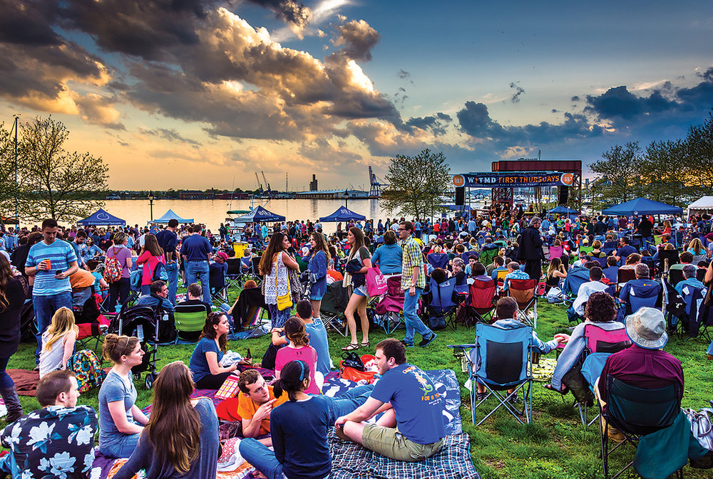 First Thursday's at Canton Waterfront Park