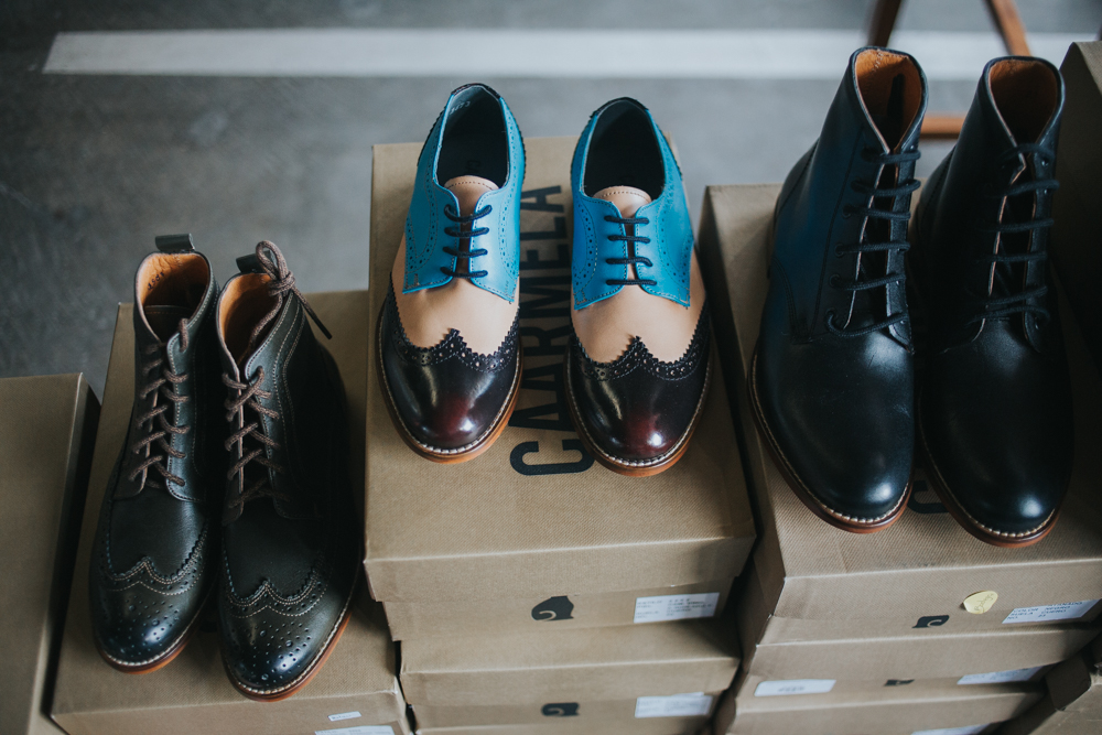Caarmela's luxe lace-ups, designed and produced entirely in Mexico