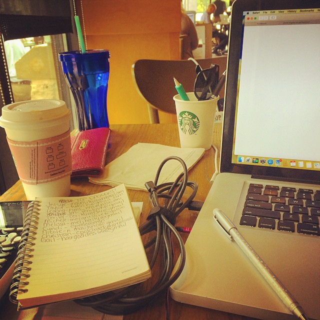 Online studying can be a pain, but set up an office somewhere and get your work done!