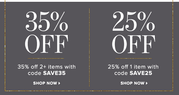 Save on everything in the store!
