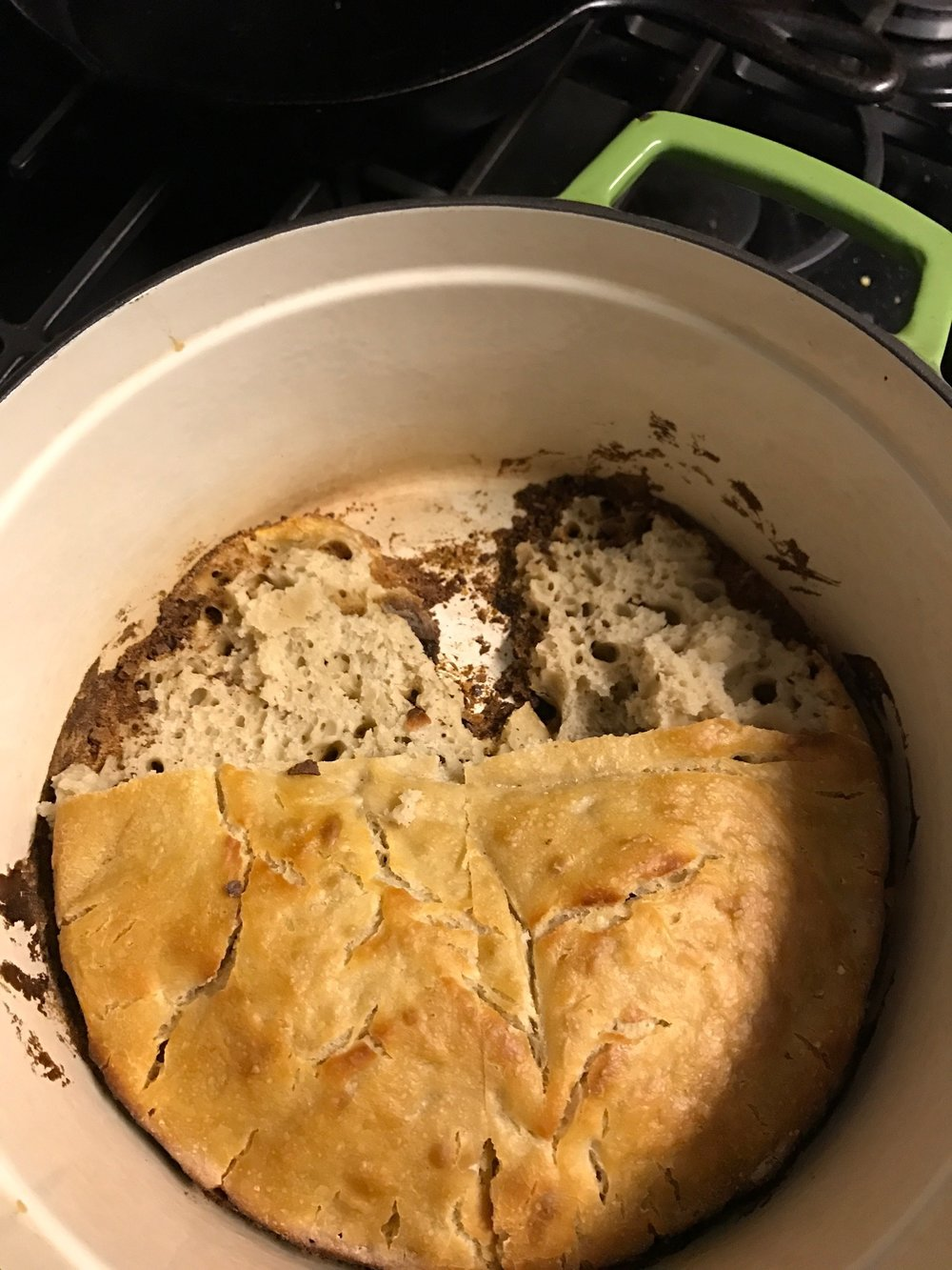 Always grease your Dutch Oven. You don't want to repeat my mistake.