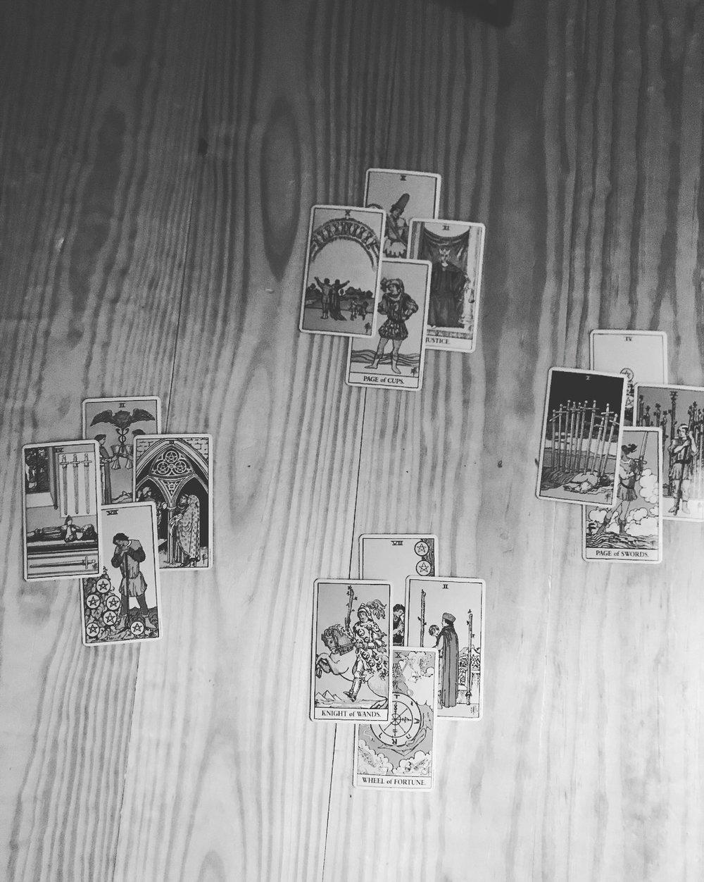October 2 Tarot Cards.JPG