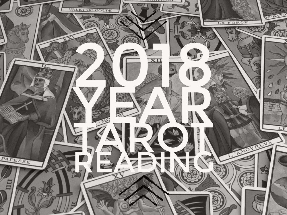 2018 Tarot Readings