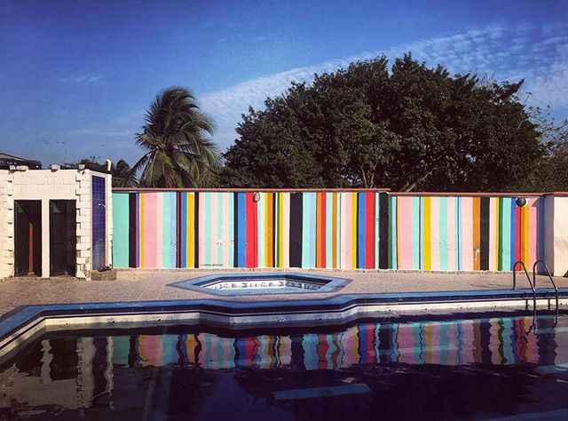 #Palenqueras #Rituals #freedom #islandlife #cartagena #barranquillacolombia #mural #colombia #reflection
