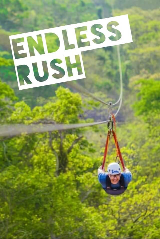 Extreme Zipline Adventure $109