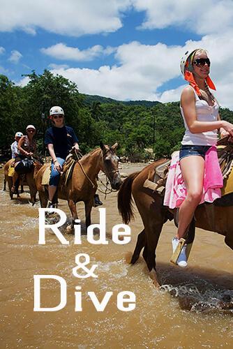 Horse Back Ride & Snorkel $118