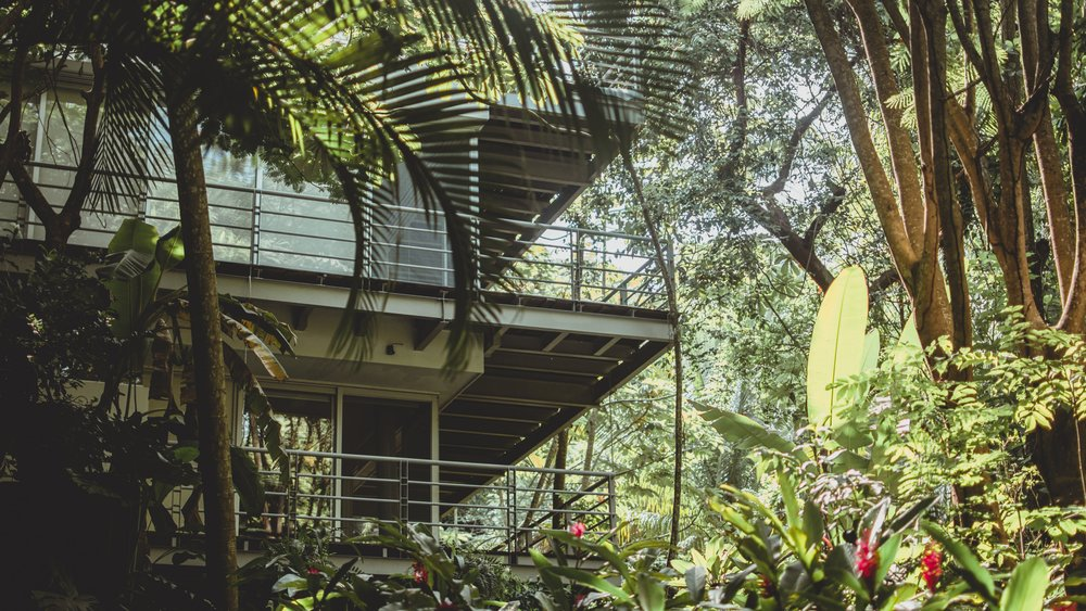 Luxury, open-concept villas - Environment matters. It has the power to inspire you or numb you. Stress you out or bring you alive. Yoga Retreats & Co. offers a private collection of fully-staffed, Robinson-Crusoe-inspired, open-living villas. Nestled in the jungle, they overlook the pacific. It's a short flight from most US cities and a world apart from the pace of big city life. The kind of place where you can clear your mind and relax.