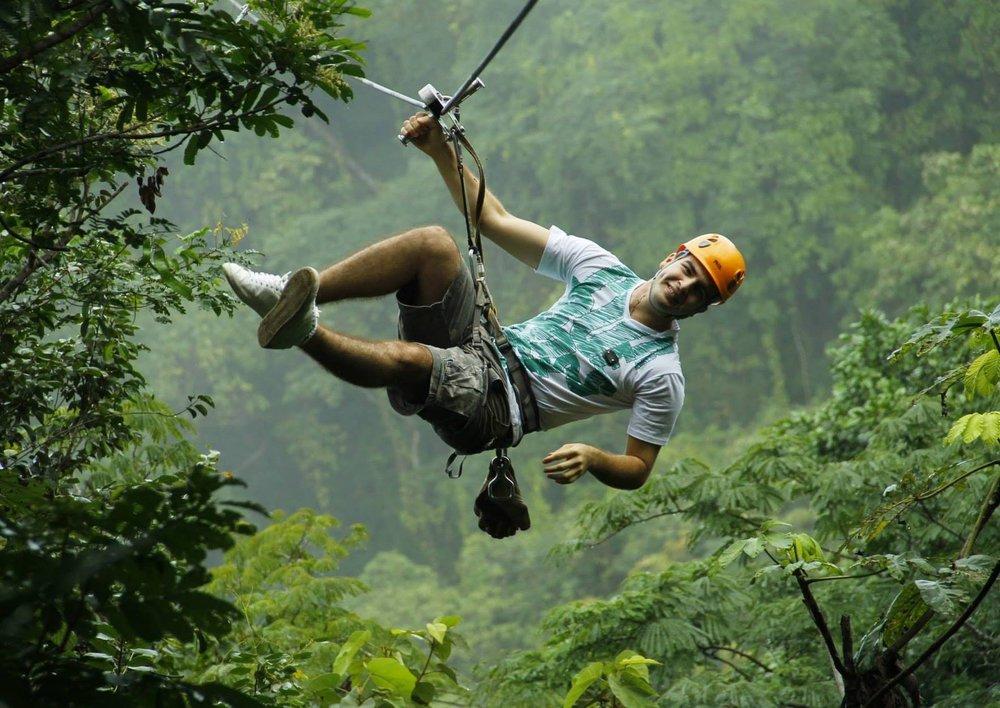 ziplining - from $99