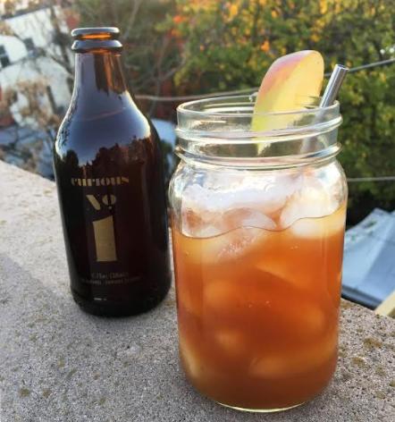 Curious Elixirs Spicy Apple Cider Margarita