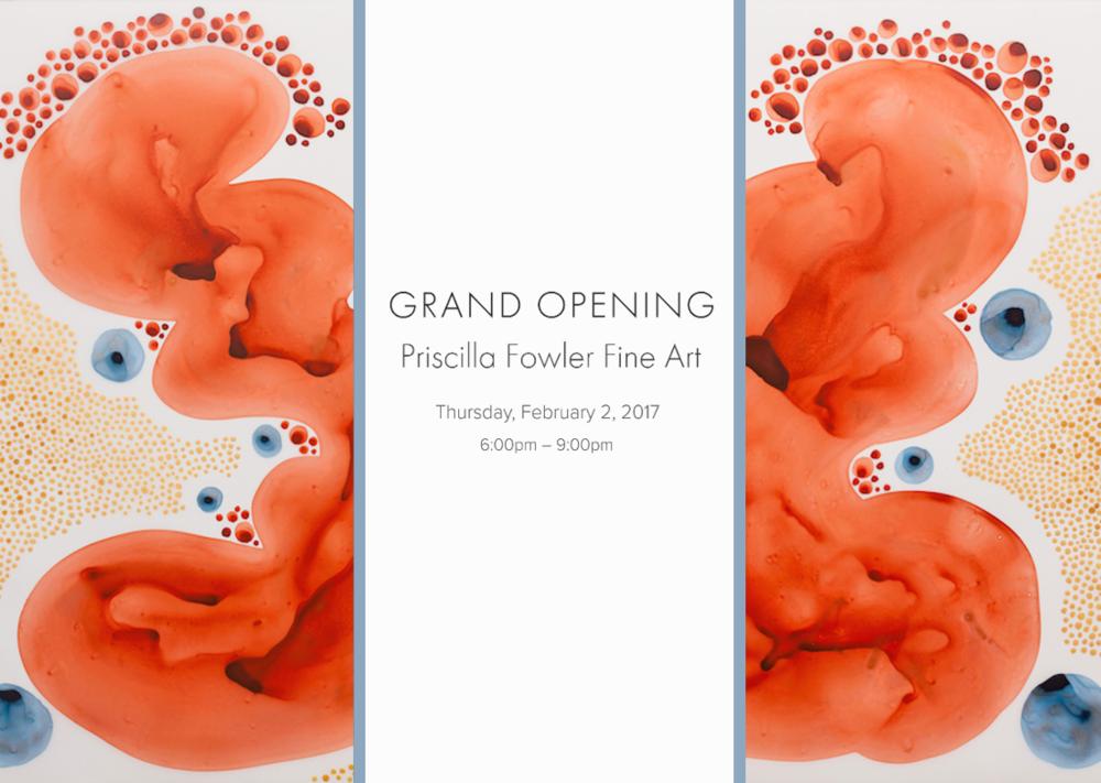 Priscilla Fowler Fine Art Grand Opening