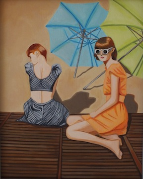 Umbrella Beauties by Eva Celin