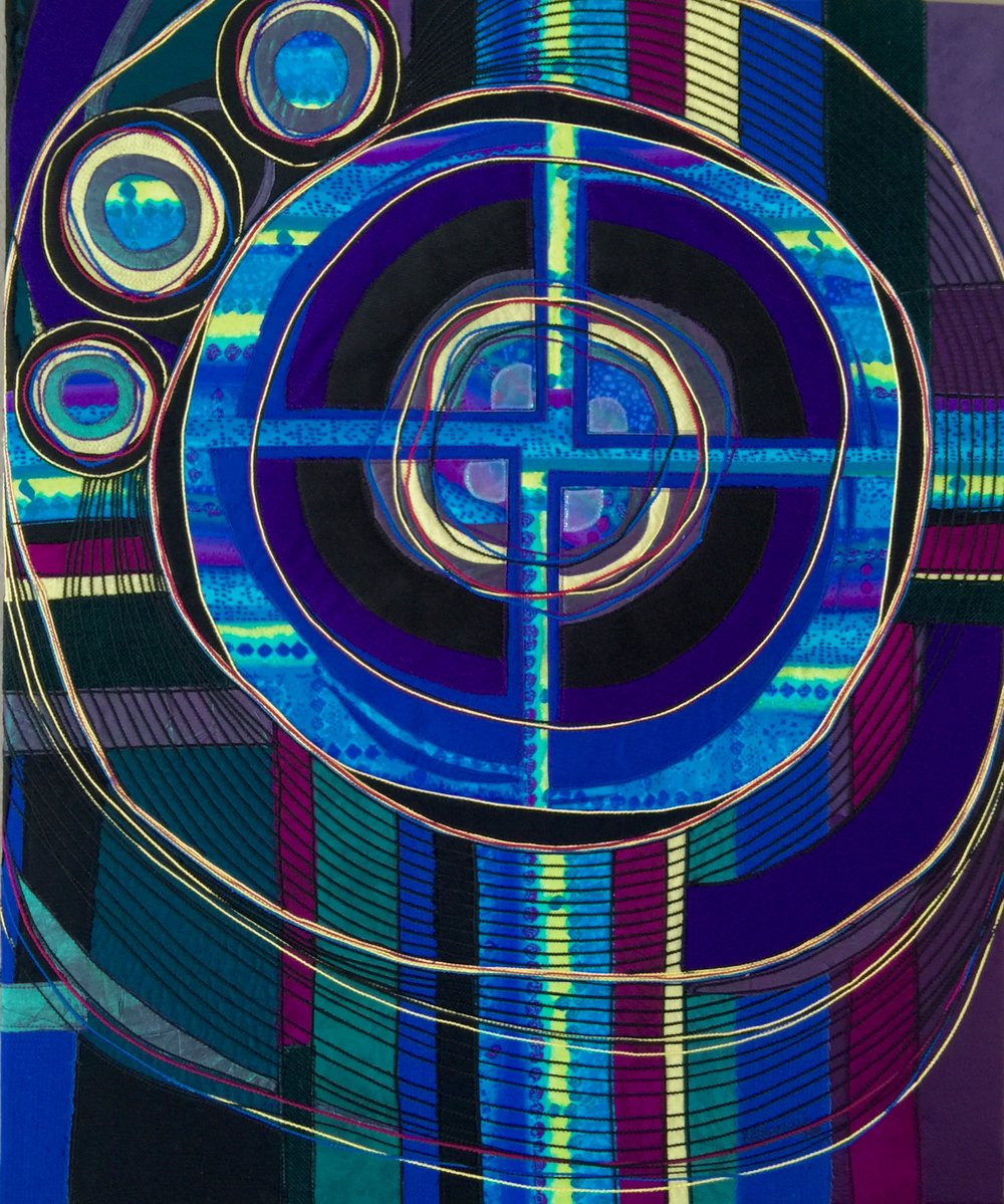 Through the Crosshairs , 2016  32 × 26 in  $850