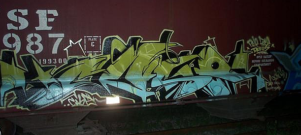 A freight train piece from some years ago.....