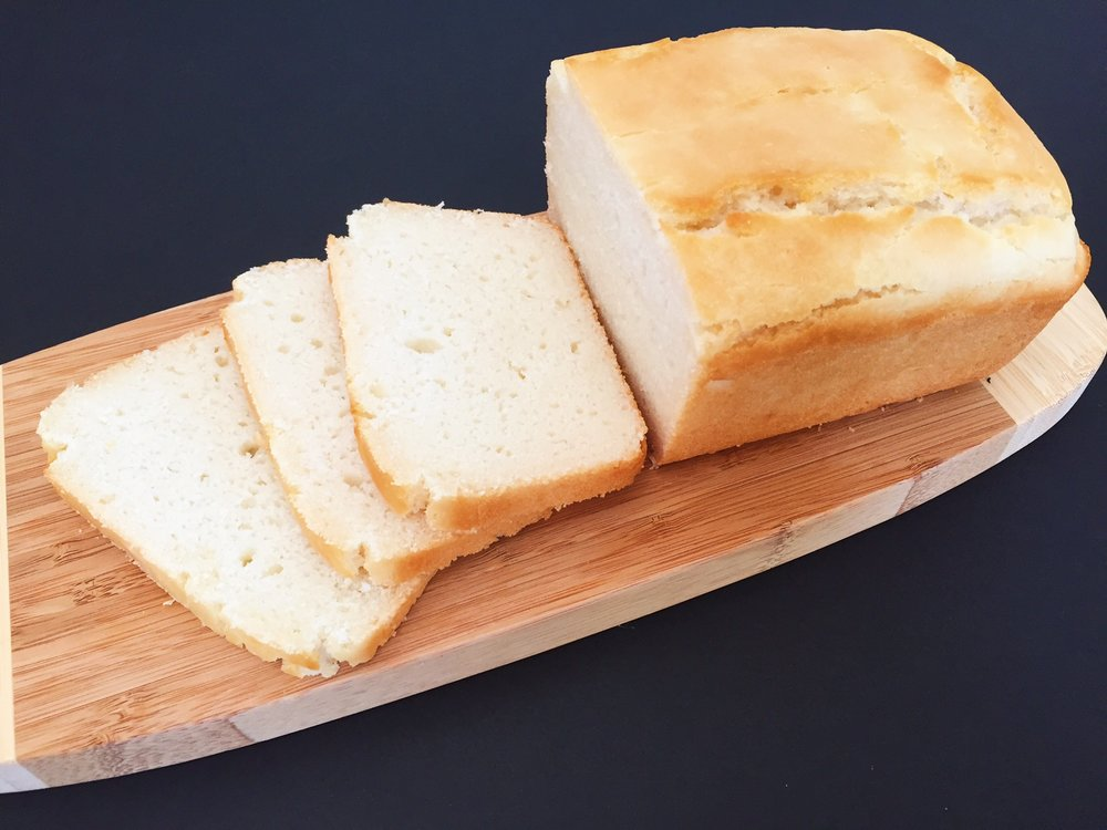 Gluten-Free Rice Flour Sandwich Bread