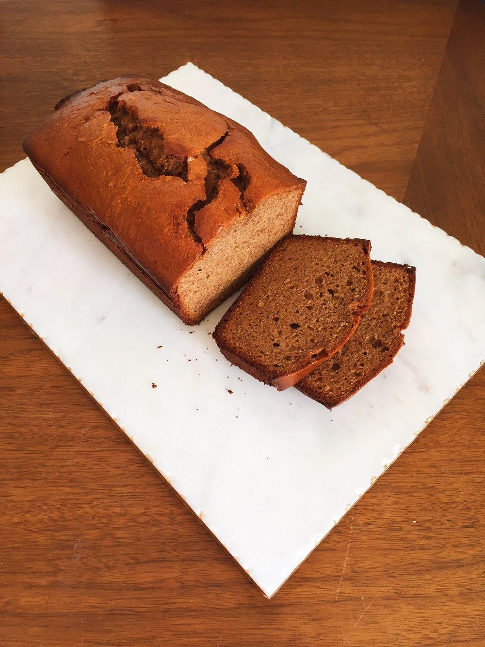 Paleo Honey Brown Bread