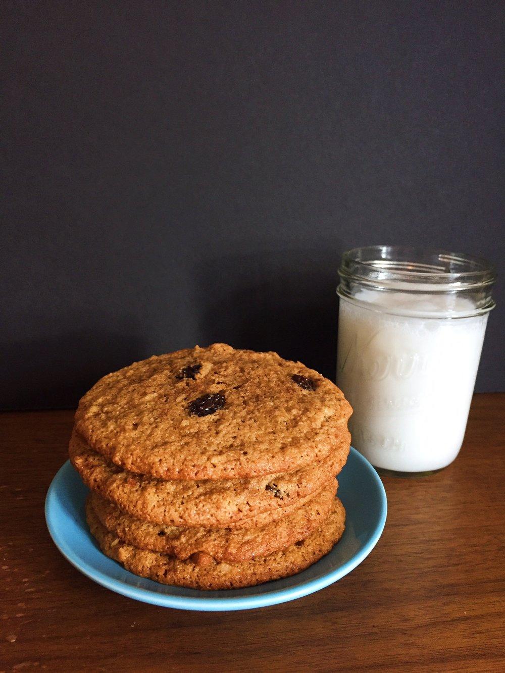 Noatmeal Paleo cookies