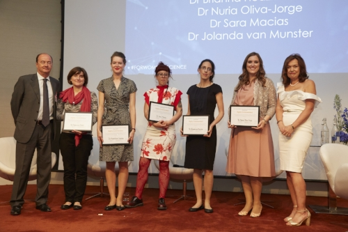 2018 L'Oréal-UNESCO For Women in Science Award Ceremony.