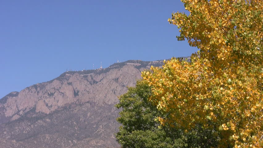 google image of the sandia mountains.