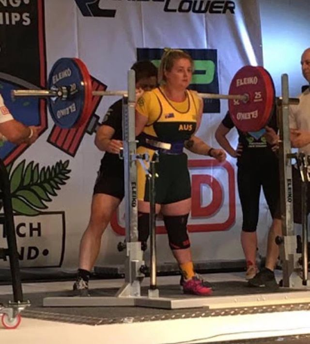 Good luck to SHSC's original gangsta @einasleigh who is defending her title at the Oceania Championships today in Singapore!  T-minus 30mins until she steps on the platform! @oceaniasg17 @thomaswilloughby87 @shsc_pt @lionessfit_mittagong @matthewhapper #shsc #powerlifting #oceanias #squat #bench #deadlift #gangsta