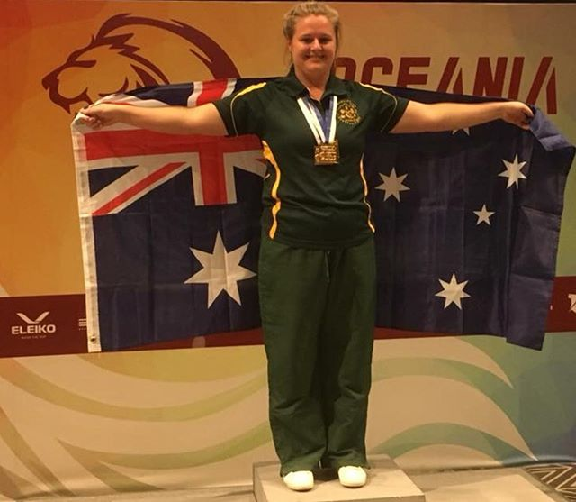 She did it! . Back to back titles! @einasleigh took out the 2017 U84 Asia Oceania Championships in Singapore over the weekend. Along with gold in the Squat, Bench & Deadlift. . Ens woke up the morning of the comp sick and instead of complaining (or telling her coach) she did as true champs do and soldiered on, did what she had to do to bring home the gold! . We are super proud of her work ethic and dedication to training! Your success is earned! . Big thank you to @teampbpowerlifting and @coachmattstewart for coaching Ens on the day. #shsc #powerlifting #strong #chickswhopowerlift #squat #bench #deadlift #oceania  @thomaswilloughby87 @shsc_pt @lionessfit_mittagong @matthewhapper