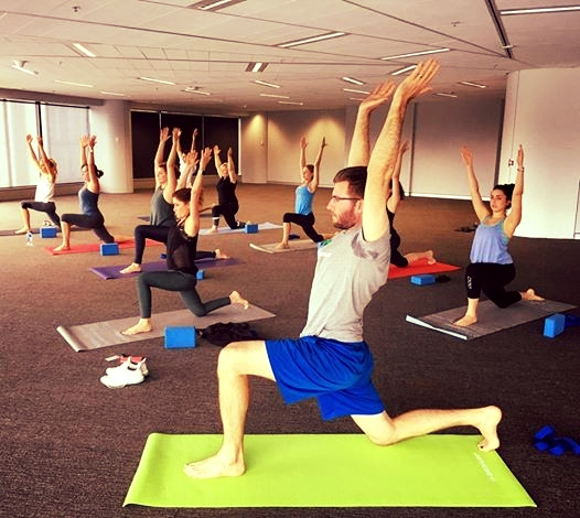 Corporate Yoga Class