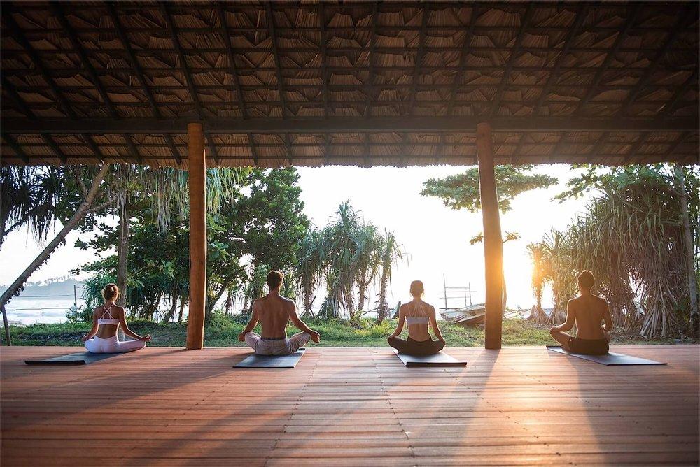 Beachfront Yoga Shala