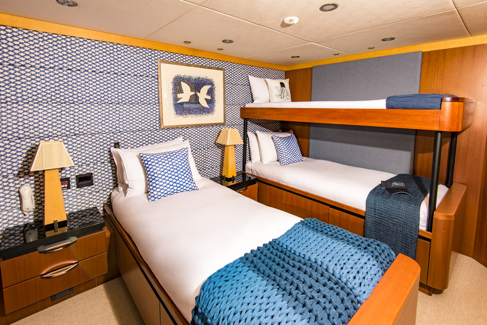 Bunks - Private charter sleeping up to 12 guests