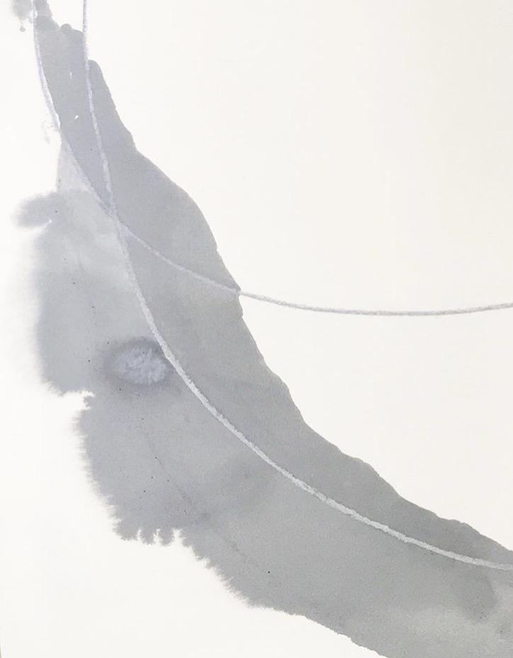 "Grey Day, 16""x20"", 2016"