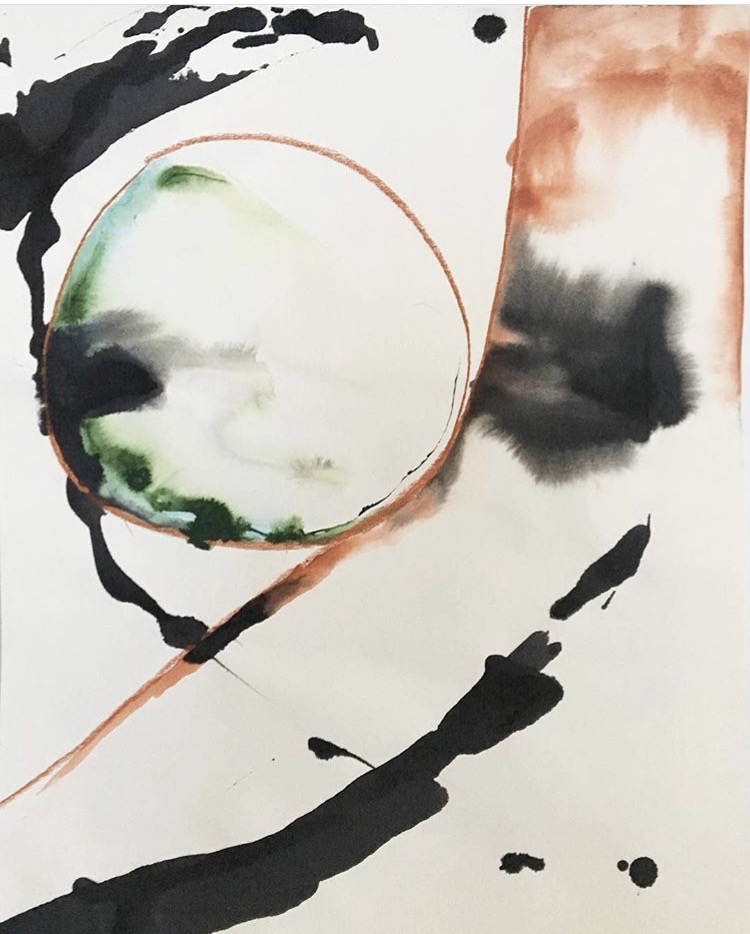 """Balance, 16""""x20"""", 2016"""