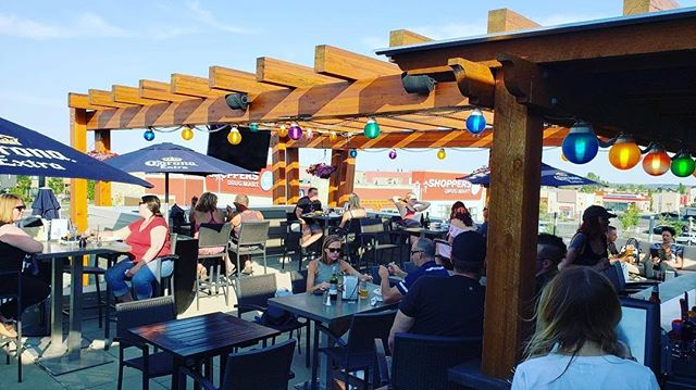 You need to get yourself on our patio stat! We've got shade and cold drinks, we can't think of anywhere else you should be spending your Wednesday afternoon... . . . #yyc #calgary #bar #drink #drinks #beer #beerme #drinklocal #drinkspecials #happyhour #shots #pubfood #yycfood #publife #feature #sports #wings #patio #summer #heatwave
