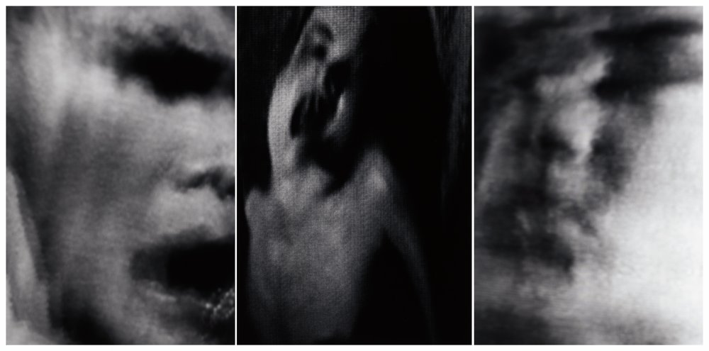 3 a.m. (engram)  2002 Triptych of gelatin silver prints Each print 26.7H by 17.8W cm / 10 ½ x 7 in
