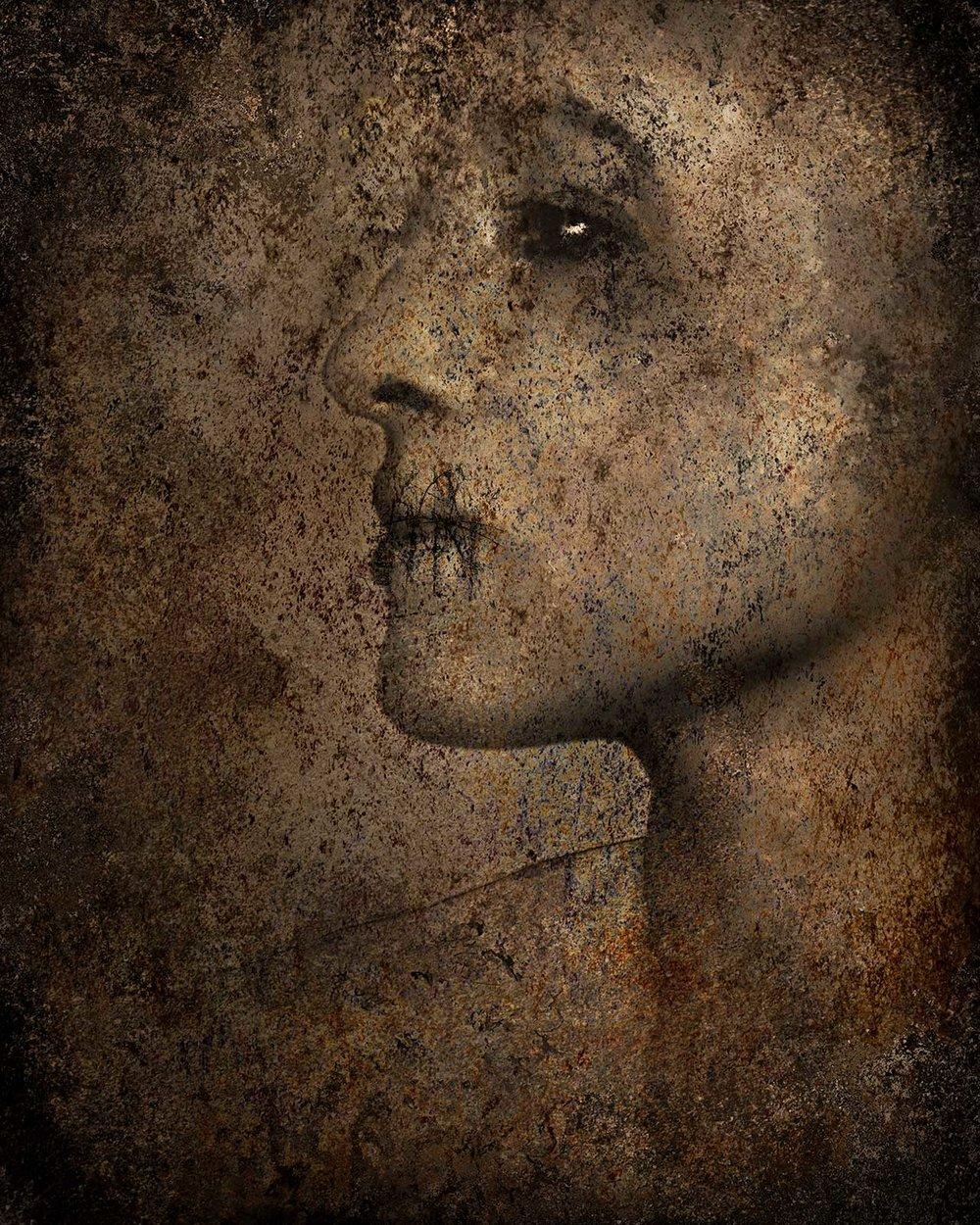 FR (persona, no. 2)  2014 Archival pigment print 100 H x 81 W cm / 39 ¼ x 31 ¾ in